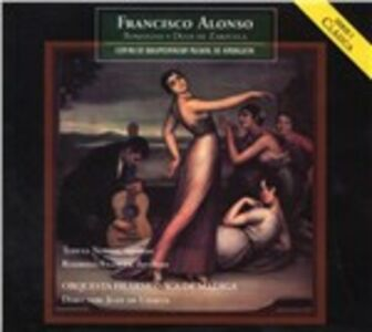 CD Romanze e duetti da zarzuele di Francisco Alonso