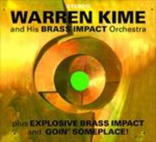 Brass Impact - Explosive Brass Impact - CD Audio di Warren Kime
