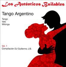 Los autenticos bailabes. Tango argentino vol.1 - CD Audio