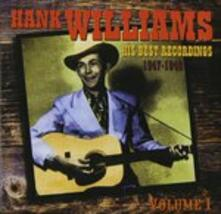 His Best Recordings 1 - CD Audio di Hank Williams