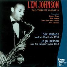 1940-1953 - CD Audio di Lem Johnson