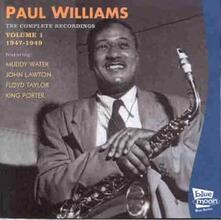 Compl.recordings vol.1 - CD Audio di Paul Williams