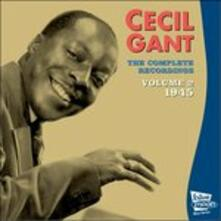 Complete Recordings 2 - CD Audio di Cecil Gant