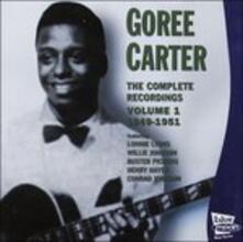 Complete Recordings 1 - CD Audio di Goree Carter