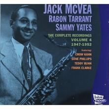 Volume 4 1947-1952 - CD Audio di Jack McVea