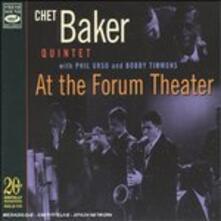 At the Forum Theater - CD Audio di Chet Baker