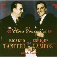 Una Emocion 1943-44 - CD Audio di Ricardo Tanturi