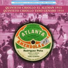 Homenaje Guardia Veja - CD Audio di Quinteto Criollo El Aleman,Quinteto Criollo Tano Genaro