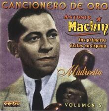 Sus Primeros Exitos En 5 - CD Audio di Antonio Machin