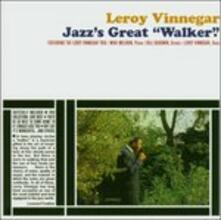 Jazz's Greatest Walker - CD Audio di Leroy Vinnegar