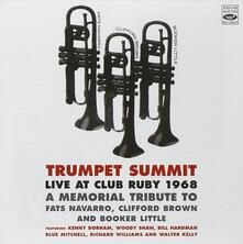 Trumpet Summit. Live at Club Ruby 1968 - CD Audio