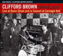 Brownie Lives! Live at Basin Street & Carnegie Hall - CD Audio di Clifford Brown