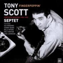 Fingerpoppin' C.s. '54-'55 - CD Audio di Tony Scott