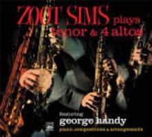 Plays Tenor & 4 Altos - CD Audio di Zoot Sims