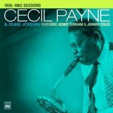 1956-1962 Sessions - CD Audio di Cecil Payne