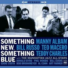 Something New, Something Blue - Swinging Guys and Dolls - CD Audio di Manny Albam,Teddy Charles,Bill Russo,Teo Macero
