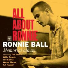 Memorial Album - All About Ronnie - CD Audio di Ronnie Ball