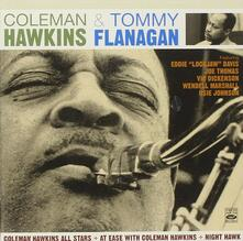 Coleman Hawkins All Stars - At Ease with Coleman Hawkins - Night Hawk - CD Audio di Coleman Hawkins,Tommy Flanagan