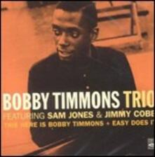 This Here Is Bobby Timmons - Easy Does it - CD Audio di Bobby Timmons
