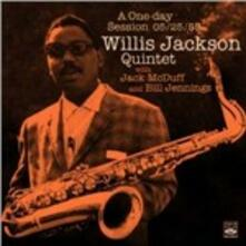 A One Day Session 25-05-1959 - CD Audio di Willis Jackson