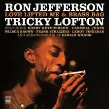 Love Lifted Me & Brass Bag - CD Audio di Ron Jefferson,Tricky Lofton