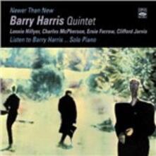 Newer Than New - Listen to Barry Harris - CD Audio di Barry Harris