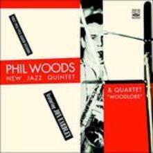 New Jazz Quintet & Quartet - CD Audio di Phil Woods