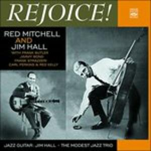 CD Rejoice Red Mitchell Jimmy Hall