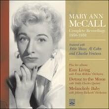 Complete Recordings 1950-1959 - CD Audio di Mary Ann McCall
