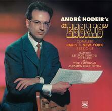 Complete Paris & New York Sessions - CD Audio di André Hodeir