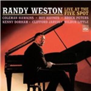 CD Live at the Five Spot Randy Weston