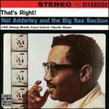 That's Right (180 gr. + Gatefold Sleeve) - Vinile LP di Nat Adderley