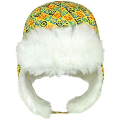 Cappello Russo Con Pelliccia Per Bambino Minions Taglia Unica Con Copri Orecchie - 2