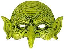 Mezza maschera stregone hallowwen