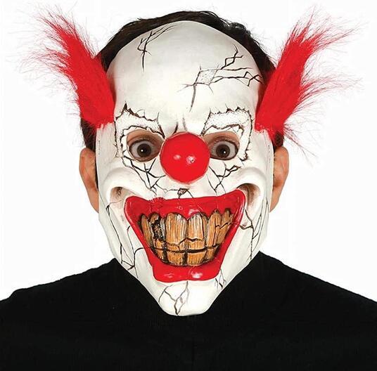 Maschera Horror clown, in lattice
