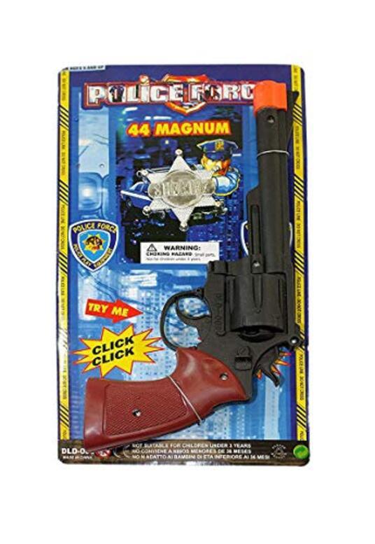Pistola 44 Magnum In Plastica