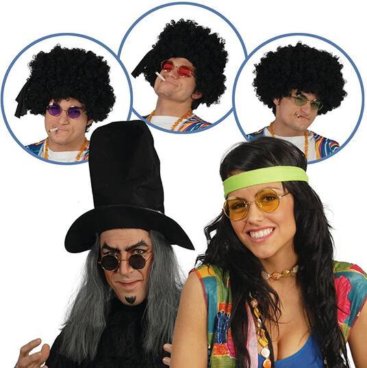 Occhiali hippie colori assortiti