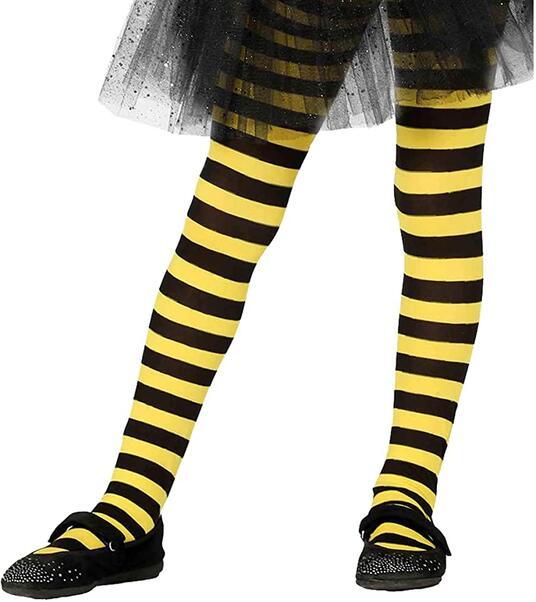 Calze righe gialle nere ape insetti 5, 9 anni