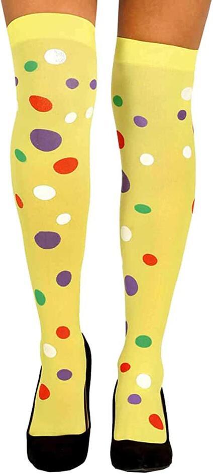 Calze clown pua multicolor