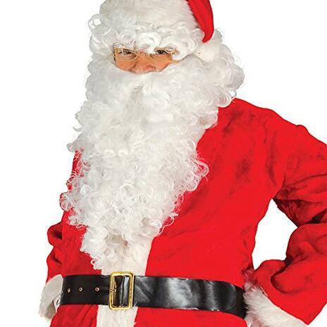 Cinturone Nero Babbo Natale Economico - 2