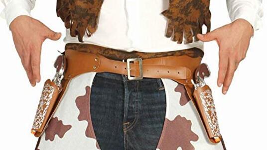 Cinturone Cowboy Con Doppia Fondina E Pistole - 2