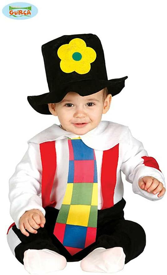Costume vagabondo clown baby