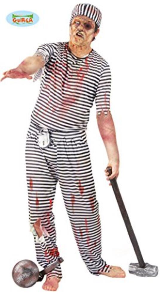 Vestito Carcerato Zombi Unica