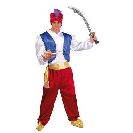 Costume Arabo Aladino Taglia Unica - 6