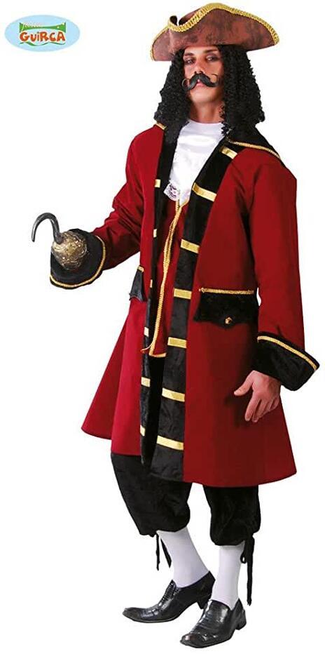 Vestito Capitan Da Pirata Unica - 5