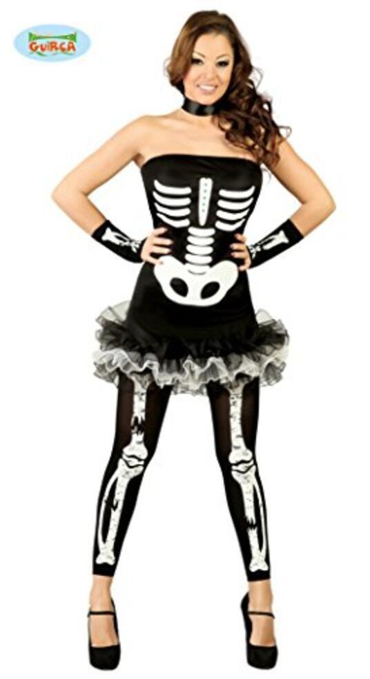 Vestito Sexy Skeleton M - 2