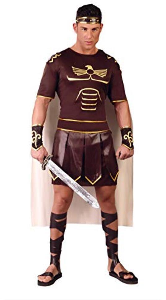 Vestito Gladiatore Romano Unica - 7