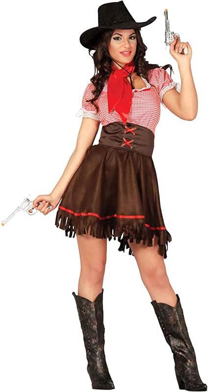 Costume cowgirl. Taglia XS