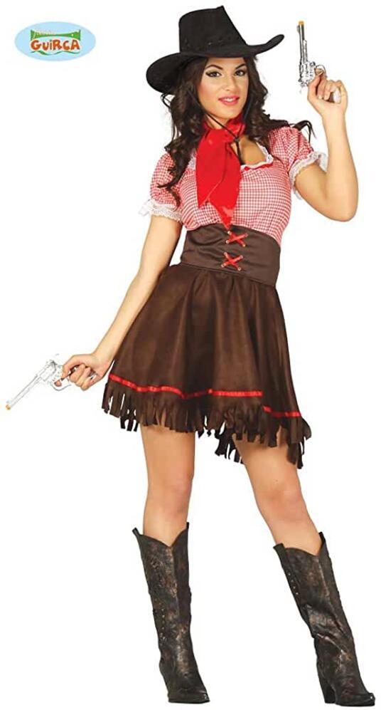 Costume cowgirl. Taglia M