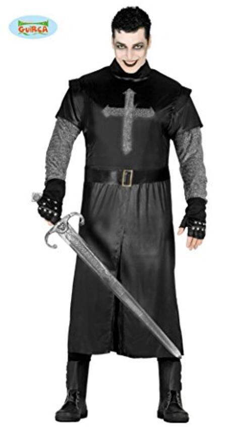 Vestito Cavaliere Nero M / L - 2